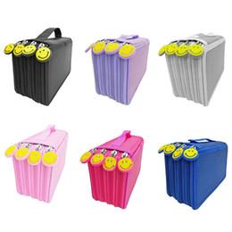 $enCountryForm.capitalKeyWord Australia - Pencil Bag Zipper Drawing Sketching Pen Storage Case Multilayer 72 Holes Multifunction Pencilcase Office School Stationery