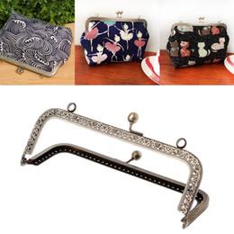 8d9ca7c3f3b DIY Purse Handbag Handle Coins Bags Metal Kiss Clasp Lock Frame DIY 12.5cm  3pcs