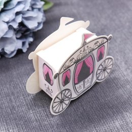 wedding shower party favors UK - 10pcs Marriage Charm Shower Favor Candy Boxes Wedding Decoration Birthday Celebration Carnival Party Supplies Favors Gifts
