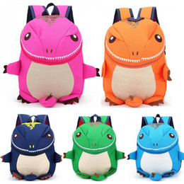 dinosaur children bag Australia - Baby Toddler Kids Child Mini Lovely Animal Backpack Kindergarten Dinosaur Cartoon Schoolbag Shoulder Bag Gifts