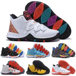 Mountain sneakers online shopping - 2019 New V Friends Area UFO Duke Oreo BHM ROKIT Basketball Shoes Men Concepts s PE Little Mountain CNY Ikhet Zoom Turbo Kyrie Sneakers