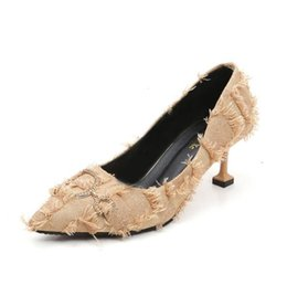 $enCountryForm.capitalKeyWord Australia - Single shoes female new suede pointed shallow mouth stiletto heels Korean fashion fur shoes sexy Dress Shoes