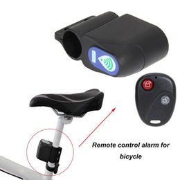 remote bicycle security alarm Canada - 105 dB Wireless Anti-Theft Alarm for Motorcycle Bicycle Waterproof Security Warning Alarm with Remote Controller