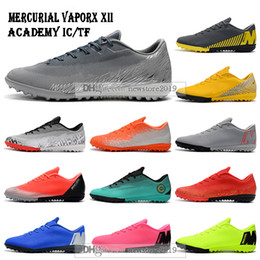 $enCountryForm.capitalKeyWord Australia - Mens Low Ankle Football Boots Mercurial VaporX XII Academy IC TF Soccer Shoes Vapors 12 Superfly Neymar ACC Indoor Turf Soccer Cleats
