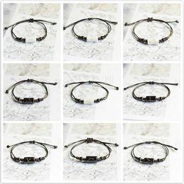 12 tv 2019 - New Hot Fashion 12 Constellation Id Bracelets Handmade Jewelry Rope Bracelet Lovers Constellation Jewelry Gift Wholesale