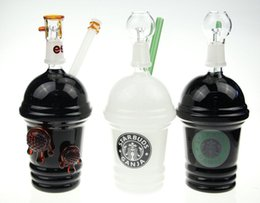 Starbucks Cups Bong Australia - new starbucks glass bong Starbuck Cup water pipe Cheech smoking pipe oil rig dome and nail glass bubbler hookah