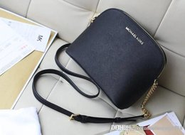 $enCountryForm.capitalKeyWord Australia - Factory Wholesale 2018 new handbag cross pattern synthetic leather shell chain bag Shoulder Messenger Bag Fashionista