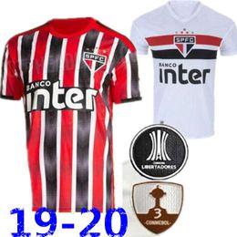 c9eb7186ff3 2019 2020 Brazil Sao Paulo soccer jerseys 19 20 Brasil Thailand quality  Camisa Souza Helinho Peres Everton Hernanes away red football shirts