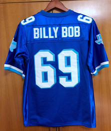 2019 football movie jerseys BILLY BOB  69 West Canaan Coyotes Varsity Blue football  jersey All stitched S - 3XL 2e1e1b45b
