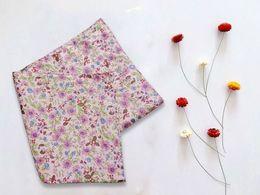 $enCountryForm.capitalKeyWord Australia - Japan little Daisy100%double cotton handkerchief small broken flower tea eat mat table linen cloth art ins small flowers and fresh table mat