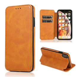 Luxury Credit Card Iphone Australia - For S10 S10E S10Plus for iphone Magnetic Wallet Case Luxury PU Leather Cell Phone Holder Soft TPU Cover Credit Card Slot