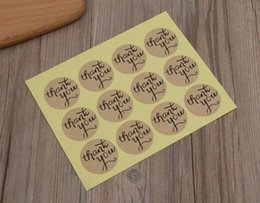 Diy weDDing gift tags online shopping - Hot Home Festive sheet Kraft Paper Thank You Gift Tags Wedding Favors Party Accessories Christmas DIY Wedding Vintage Wedding Lables