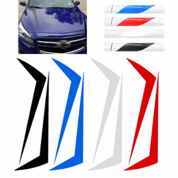 $enCountryForm.capitalKeyWord Australia - New 2x Car Stickers And Decals Racing Spikes Spears Stripe Hood Decals Vinyl Decor Stickers Stripe NTCG298