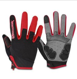 $enCountryForm.capitalKeyWord Australia - Wholesale-Full Finger Touch Screen Cycling Gloves Road MTB Mountain Bike Gloves Bicycle Outdoor Sport Gel Pad Gloves Breathable Equipment