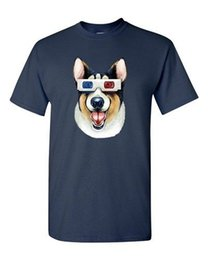 3d Glasses Green NZ - Corgi 3D Glass Dog Animal Lover Tanya Ramsey Artworks Art DT Adult T-Shirts Tee Cool xxxtentacion discout hot new top tshirt