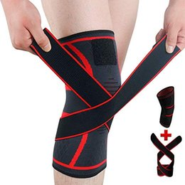 $enCountryForm.capitalKeyWord Australia - Knee Support Compression Sleeves Knee Pads Knee Wraps Pads for Arthritis Pain Relief ACL Running Injury Recovery Basketball and Sports M420F
