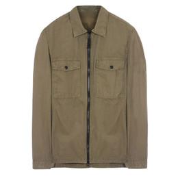 Long top coats online shopping - 18FW WN OVERSHIRT OLD GARMENT DYE Shirt TOPST0NEY Men Women Jacket Facshion Cotton Coat Top HFLSJK324