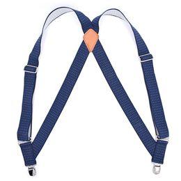 $enCountryForm.capitalKeyWord Australia - Adjustable Elastic Adult Business Suspender Straps X-Shape Clip-On Men'S Suspenders 2 Clip Pants Braces For Women Belt Straps