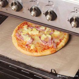 Microwave Mats NZ - New 60*40cm Heat Resistance Baking oilcloth Tarpaulin Teflon Non-stick Mat Microwave Oven Cooking Pad Sheet Kitchen Bakeware IB685