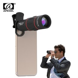 $enCountryForm.capitalKeyWord Australia - Apexel Phone Camera Lens 18x Telescope Telephoto Lens 18x25 Monocular For Iphone Samsung Android Ios Smartphones J190704