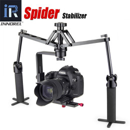steadicam steadycam stabilizer UK - Freeshipping Handheld Spider stabilizer video steadicam Rig for DSLR Camera Canon 5D2 5D Mark III 70D Camcorder Mechanical Steadycam