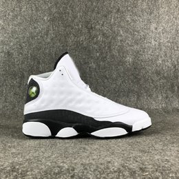 $enCountryForm.capitalKeyWord Australia - TPOS White Black Love And Respect 13s Design Low-Top Man Shoe Senior Level Appearance Smooth Light Feelings Shoes With Free Sipping