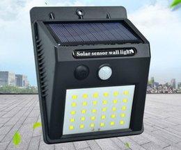 $enCountryForm.capitalKeyWord Australia - Solar Energy Lamp 30led Human Body Induction Wall Lamp Outdoors Waterproof Garden Courtyard Lamp Lighting Outdoor LED Gadget