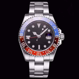 $enCountryForm.capitalKeyWord NZ - Basel World New GMT II Automatic Movement Stainless Steel best quality Dive Basel 40MM 116710 116710BLNR 126715CHNR Mens Watch Watches