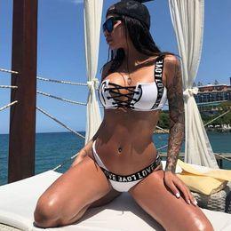 8b29ea6648 Bikinis Mujer 2019 New Sexy Brazilian Bikini Set Swimwear Women Swimsuit  Halter Push Up Bathing Suit Beach Wear Thong Biquini