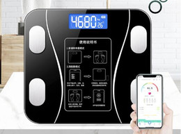 Small Fat UK - Electronic Body Fat Scale Household Small Body Weight Adult Weight Loss Weight Fat Accurate Measurement of Physical Fitness for Girls