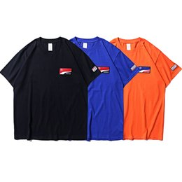 $enCountryForm.capitalKeyWord UK - Adererror Embroidered Logo T shirt New Fashion Summer Cotton Casual Tee For Men Short Sleeve Orange Blue Black T-shirt CLI0509