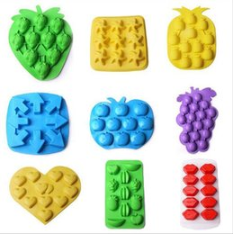 $enCountryForm.capitalKeyWord Australia - Ice Cube Maker Kitchen Tools Lips Heart Freeze Mould 18Shapes Silicone Chocolate Mold Ice Cube Durable Apple Banana Jelly Pudding Mould