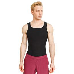 $enCountryForm.capitalKeyWord NZ - Men Casual Square Neck Sleeveless Solid Black Summer Slim FitnessTop Fitness Vest Top Fitness, Yoga
