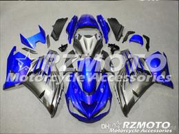 Blue Fairing Zx14r Australia - 3 Free gifts New ABS bike Fairing Kits 100% Fitment For Kawasaki Ninja ZX14R 2012 2013 2014 2015 2016 ZZR1400 12-16 Blue Black V7