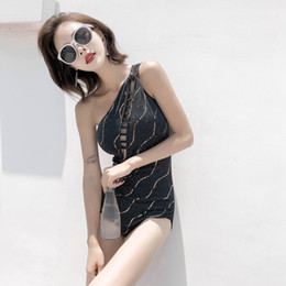 $enCountryForm.capitalKeyWord Australia - Swimwear For Women Swimsuit Woman 2019 Swimsuits One Piece Summer Swim Wear Thai Brand New Sexy Hollow Fitted Solid Polyester