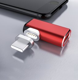 Charging Connector Types Australia - USB C Cable To Type-C Magnetic Adapter For Macbook Huawei Mate 20 Pro OnePlus 6 Fast Charging Magnet Type C Connector