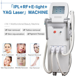 China Elight & OPT SHR&RF&Nd Yag laser OPT SHR IPL laser hair removal clinic beauty machine Q Switch ndyag laser black doll equipment supplier q switched nd yag laser hair suppliers