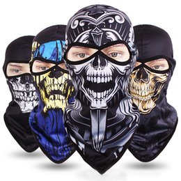 $enCountryForm.capitalKeyWord Australia - Halloween 3D Outdoor Skull Sport Mask Neck Windproof Dustproof Motorcycle Bicycle Cycling Ski Snowboard Mask Warm Full Face
