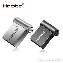 $enCountryForm.capitalKeyWord Australia - Happy Fashion Super Mini metal usb flash drive 4GB 8GB 16GB pen Drive 32GB 64GB usb 2.0 flash stick pendrive free shipping cle usb