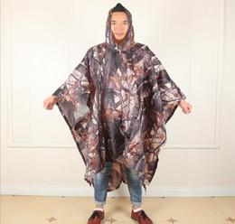 Ingrosso Giacca Multi Function tre in un camuffamento Raincoat Mens Designer Impermeabili escursione esterno di alpinismo Corta Vento Pioggia