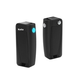 $enCountryForm.capitalKeyWord UK - Original Keto Flip Box Battery 400mAh Vape Mods Battery E Cigarettes Battery Charger Kit Preheating VV Batteries Fit 510 Vape Cartridges