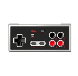 Android Gamepad Controller Australia - 8BitDo N30 Bluetooth Gamepad Game Controller For Switch Online Game Support Turbo Joystick Android TV Box Macos Stream Game Console