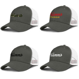 drinking hat beer Australia - Men hamms beer Original logo drink Mesh Caps Women's Printed Ventilation dad Hats black camouflage subscription products stein sign for