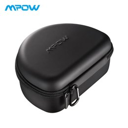 pouch for headphones Canada - Mpow Headphone Carrying Case Universal Outdoor Storage Protective Bag Pouch for Foldable Headsets Over-ear Foldable Headphones