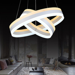 pendant lights staircase NZ - Multi pendant light fixture dimmable long hanging pendant lights for living room dining room staircase hotel