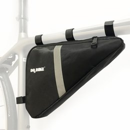 Bicycles Training Australia - Sport Bicycle Triangle Frame Bag Storage Top Tube Bag Training Saddle Frame Strap-On Pouch for Cycling #322657