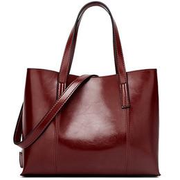 Antique Zippers Australia - Women Bag Leather Handbags Vintage 2018 Fashion Tote Bag Female PU Leather Shoulder Large Capacity Antique Designer
