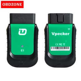 Function Connectors Australia - VPECKER Easydiag E1 WiFi OBDII Full Diagnostic Tool With Special Function Vpecker Scanner Support Windows 10