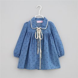 Long Collar Shirts For Girl Australia - New Girl Shirt Autumn Kids Long Sleeve Plaid Shirts Children Leisure Clothing Casual Shirt For 3~12 Y