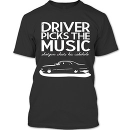 China Driver Picks The Music T Shirt, Supernatural Winchester T Shirt - HoodieFunny free shipping Unisex Casual Tshirt cheap supernatural print suppliers